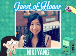 Guest of Honor – Niki Yang!